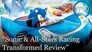Sonic & All-Stars Racing Transformed Review [Xbox One, PS3, Xbox 360, Wii U, & PC]