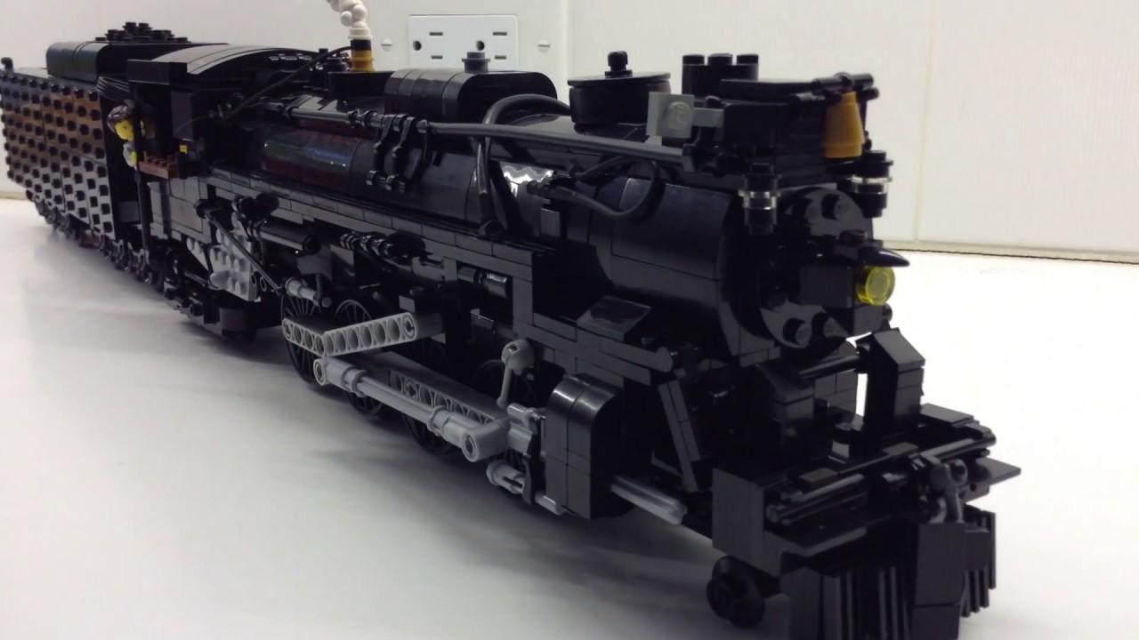 lego pere marquette   engine upgrades youtube