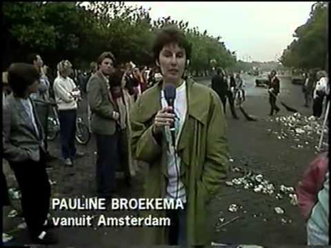NOS 8 uur Journaal EK 1988 met Noraly Beijer