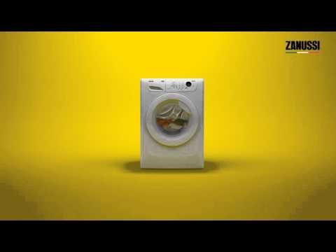 Washing Machines Zanussi AquaFall Technology
