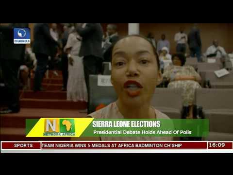 Sierra Leone Presidential Debate Holds Ahead Of Polls |Network Africa|