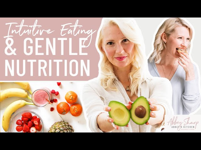 How to Incorporate NUTRITION into INTUITIVE EATING & How to Not Just Crave