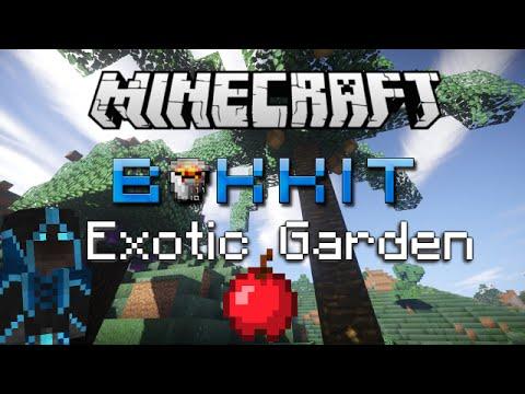 Minecraft Plugin Showcase Exotic Garden