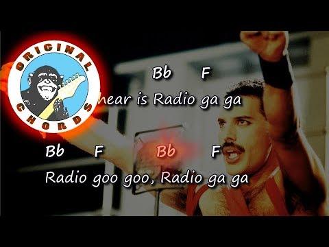 Queen - Radio Ga Ga - Chords & Lyrics