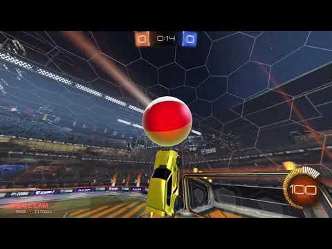 BREEZI FLICK WITH EVERY BALL IN ROCKET LEAGUE