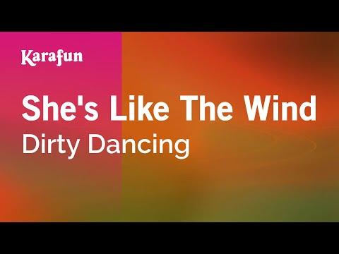 Karaoke She's Like The Wind - Dirty Dancing *