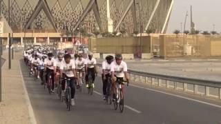 """شاهد .. """"دراج جدة"""" يشارك في أسبوع حرس الحدود الخليجي الخامس"""