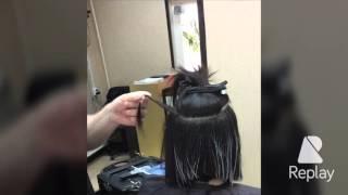 Придание шоколадно- карамельных прядей на темных волосах. Сомбре(, 2016-04-21T15:38:07.000Z)