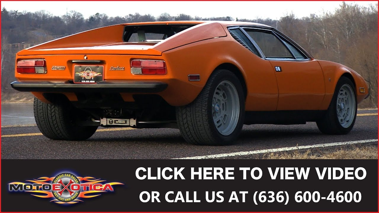 Ford Pantera Project For Sale ...