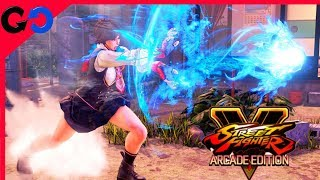 Street Fighter V Arcade Edition : Analisis de Gameplay de Sakura y Nuevos Personajes Season Pass 3!!