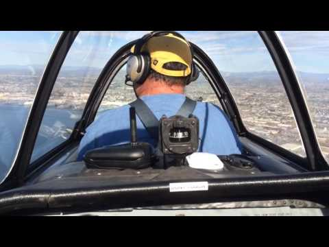 Yak-52 Formation Flying in San Diego with T-34 and CJ-6