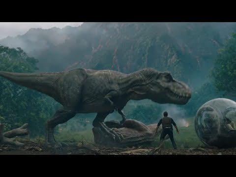 TYRANNOSAURUS REX vs CARNOTAURUS!!! (Jurassic World 2: The Fallen Kingdom)