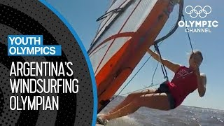 Argentinian Windsurfer looks to claim gold at YOG 2018 | Youth Olympic Games