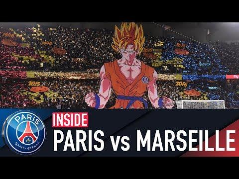 INSIDE - PARIS SAINT-GERMAIN 3-0 MARSEILLE with Neymar Jr, Cavani & Mbappé