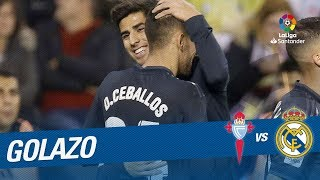 Golazo de Dani Ceballos (1-4) RC Celta vs Real Madrid