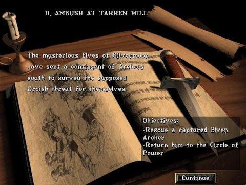 Warcraft II: Tides of Darkness PC Gameplay