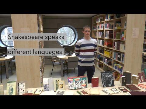 Shakespeare speaks different languages