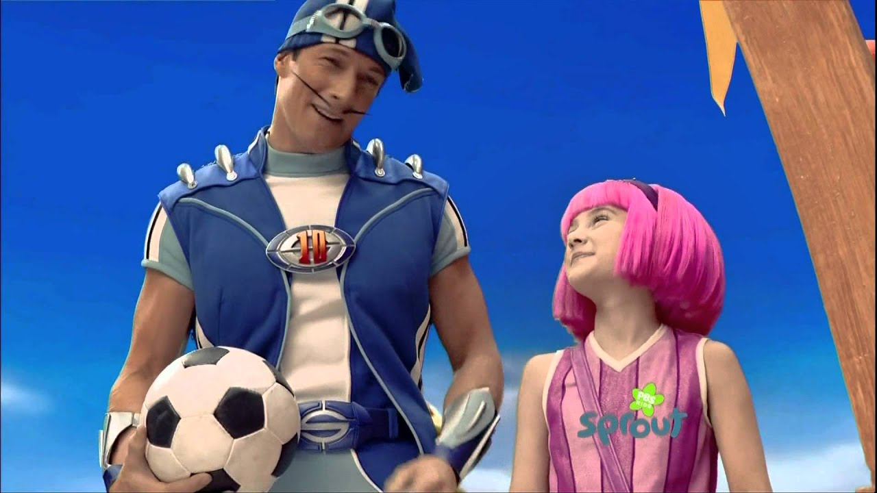 Lazy town tv