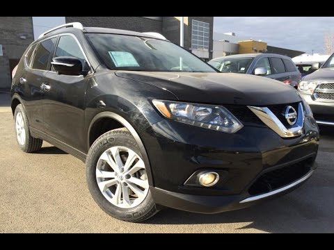 Pre Owned Black 2014 Nissan Rogue AWD SV Review | Olds Alberta