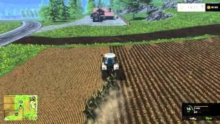 Farming Simulator 2015 - LS15 - s1e4 - Jak wygląda orka