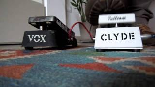 Vox V846 Wah vs Fulltone Clyde Wah