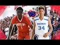 Shaquille O'neal son VS Manute Bols son!!! Shareef O'neal vs Bol Bol