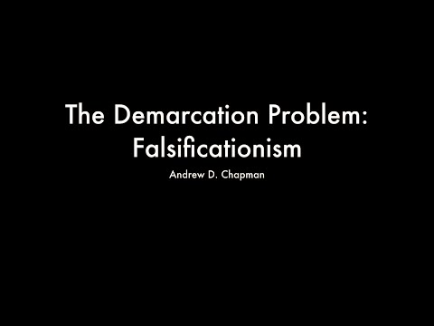 The Demarcation Problem: Falsificationism