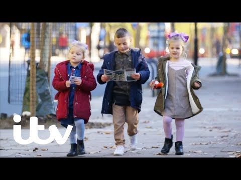 Can Kids Navigate Their Way Across London Alone? | Planet Child | ITV