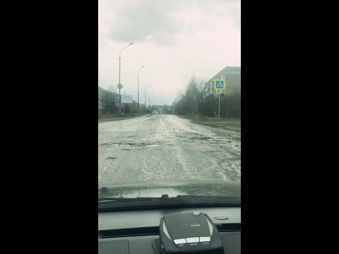 Дорога,ямы,Верхняя Салда,Титановая долина,смерть подвеске мазда.когда реально растаял лед после зимы
