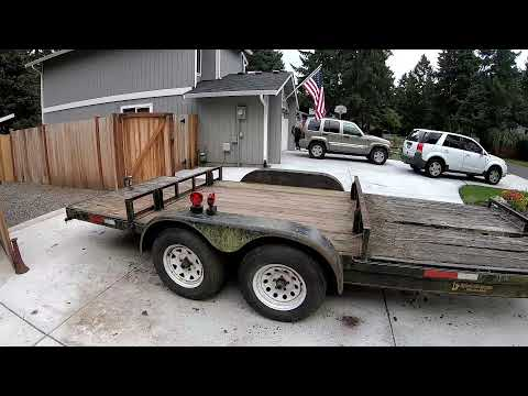 Download How to turn a Zero dollar 18' Car Trailer into 3500 dollars Part 1