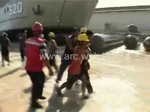 Incident at KRI TELUK BINTUNI Launching