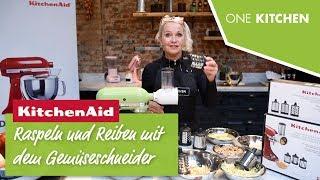 KitchenAid Gemüseschneider 5KSMVSA mit Zusatztrommeln 5KSMEMVSC | by One Kitchen