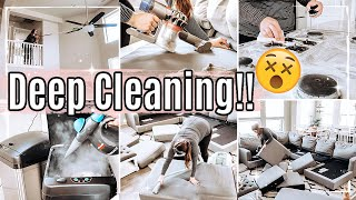 MASSIVE DEEP CLEAN WITH ME 2020 😵 :: INSANE DEEP CLEANING MOTIVATION *SATISFYING HOMEMAKING INSPO*