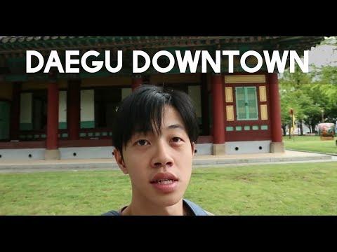 Vlog di Korea: Daegu Downtown