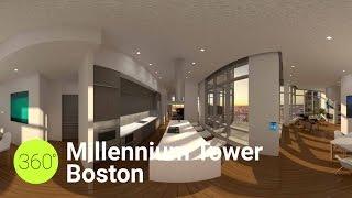 Millennium Tower Boston 360 Rendering Walkthrough
