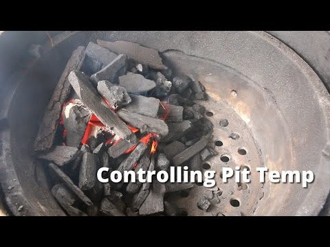 Smoker Temperature Control - Controlling Smoker Temp Tips