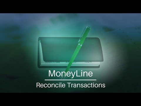 Learn To Reconcile Your Transactions In MoneyLine Personal Finance Software