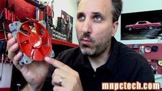 DIY Guide Painting PC Cooling Fan, Corsair SP-120 & AF-120