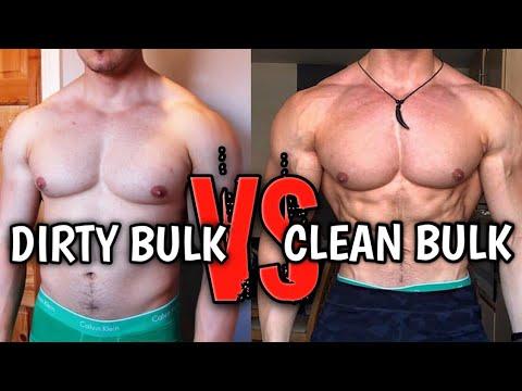 DIRTY BULK VS CLEAN BULK WHICH IS BEST | HOW TO BULK AS A BODYBUILDER | BULKING 101