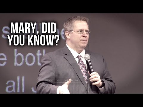"""Mary, Did You Know"" Part 3 – Pastor Raymond Woodward"
