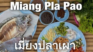 Extremely Fresh Grilled Fish In Udon Thani (เมี่ยงปลาเผา)