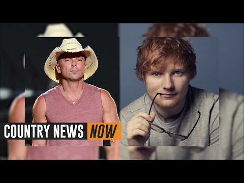 "Kenny Chesney Wrote His New Song ""Tip Of My Tongue"" With Ed Sheeran"