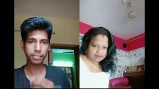 Trending Duet Dubsmash Collection Of Chitra Kojal Aunty | Chitra Aunty Funny Troll Video