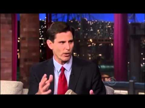 Mark Jacobson interview on David Letterman   October 9, 2013