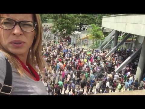 VENEZUELA POLIEDRO DE CARACAS LA CONSTITUYENTE 30 JULIO 2 017 SI VA