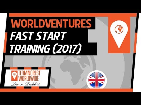 WorldVentures Fast Start Training | Gordon Attard (2017)