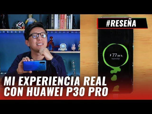 Huawei P30 Pro: Desempeño de titán. Review en español
