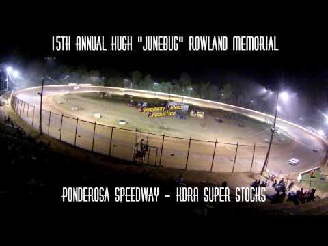 Ponderosa Speedway KDRA Super Stocks Track Cam July 24 2015