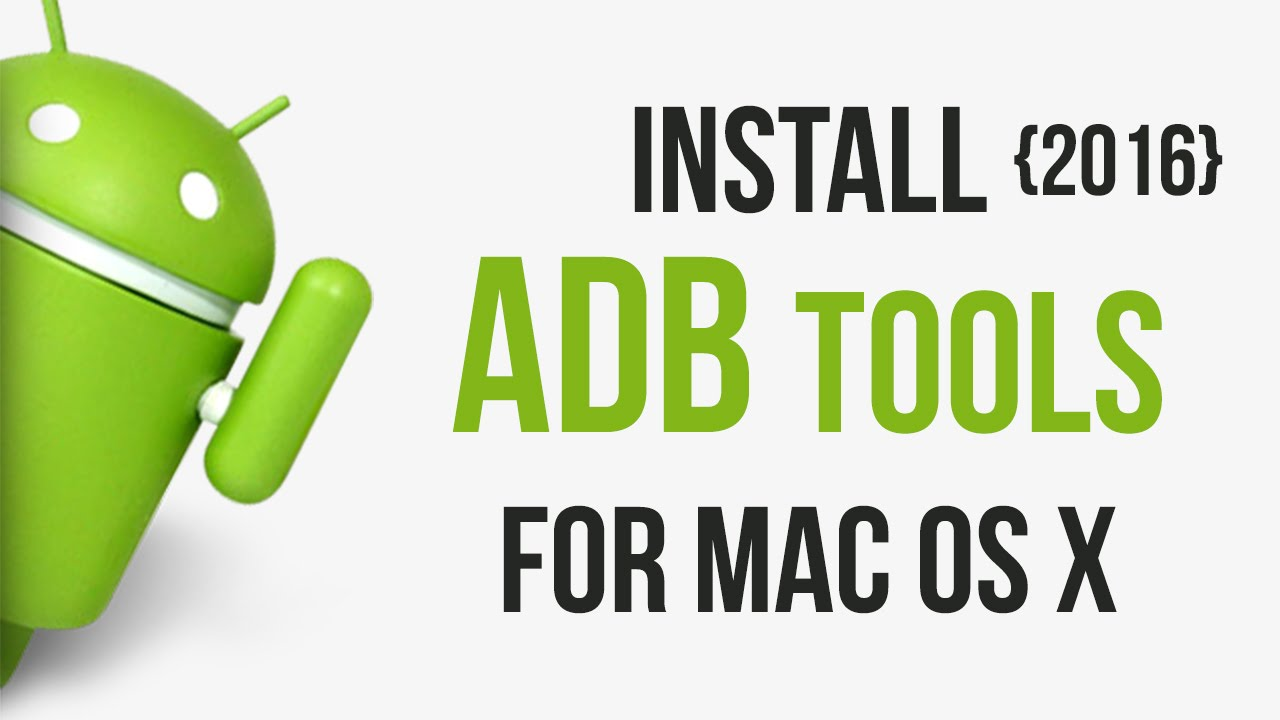 install adb tools mac