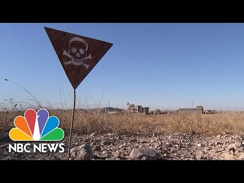 Iraqi Village Littered With ISIS Mines In Serious Danger | N